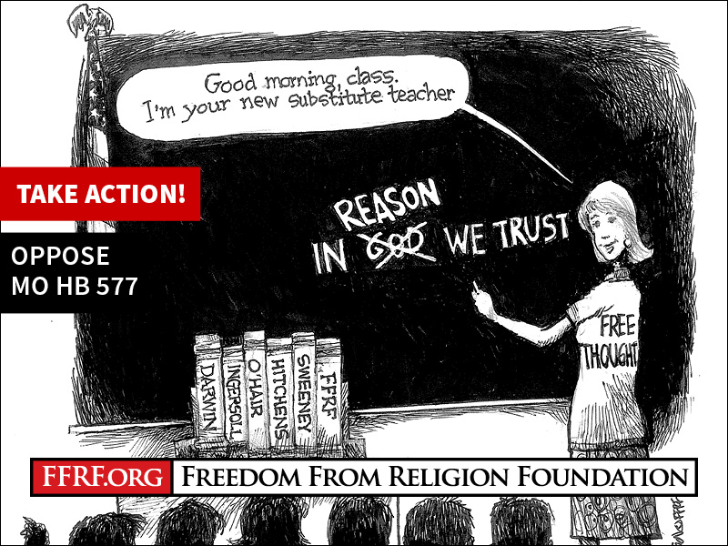 Archived Action Alerts - Freedom From Religion Foundation