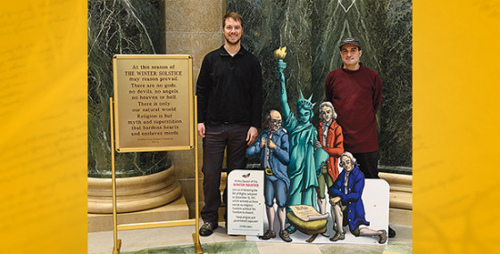FFRF solstice display returns for 24th year