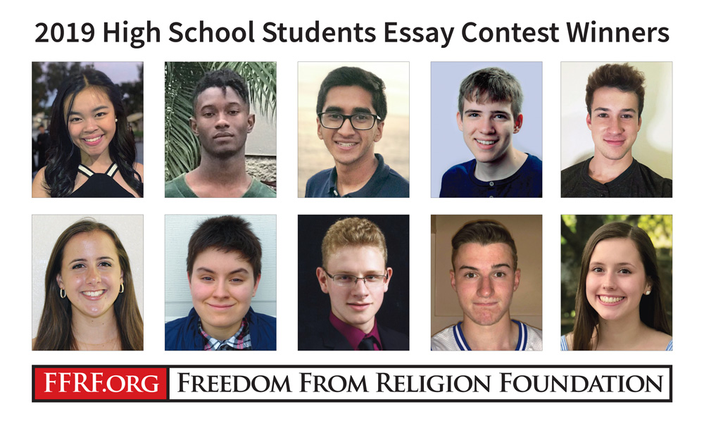 2019 High School / College Essay Winners