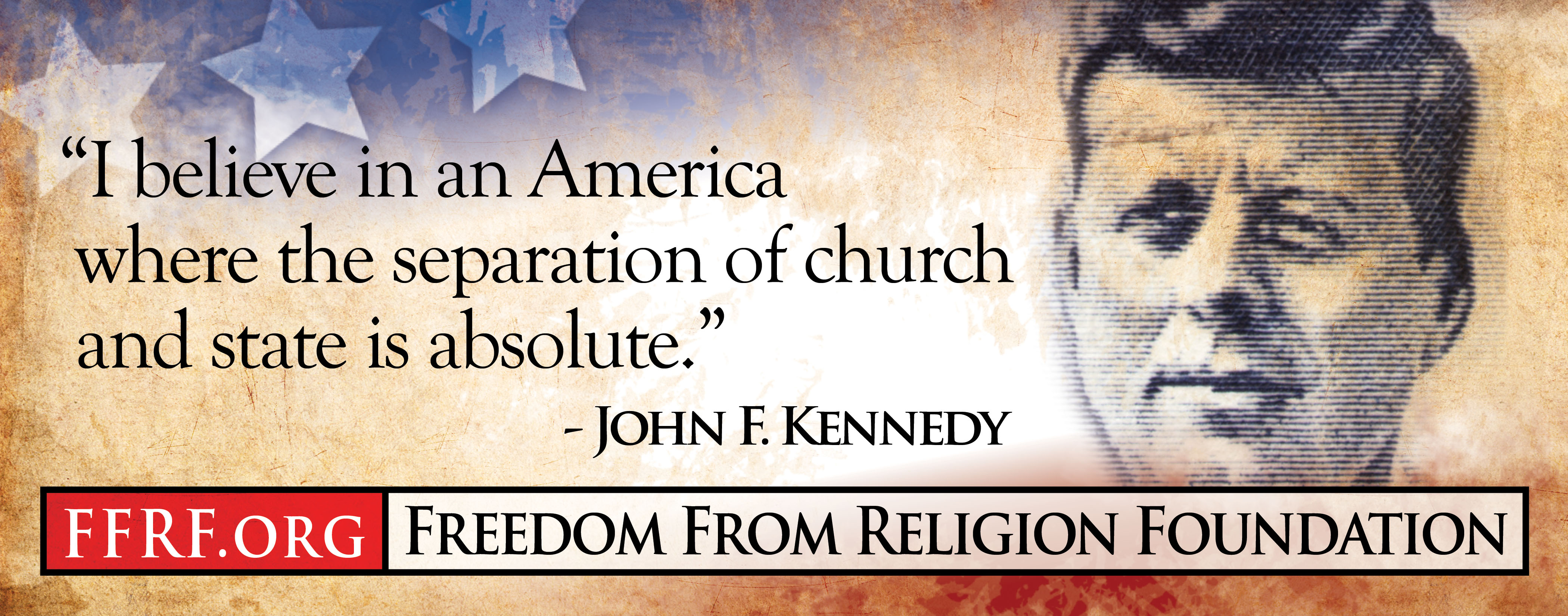 atheist billboard quoting john f kennedy goes up in lubbock texas